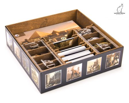 Wonderment Organizer for 7 Wonders Board Game by Gaming Trunk