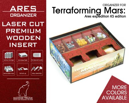Ares Organizer for Terraforming Mars: Ares Expedition