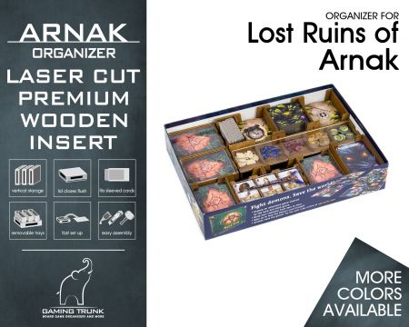 Arnak Organizer for Lost Ruins of Arnak