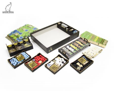 Caledonia Organizer for Clans of Caledonia™ Revision 2 by Gaming Trunk