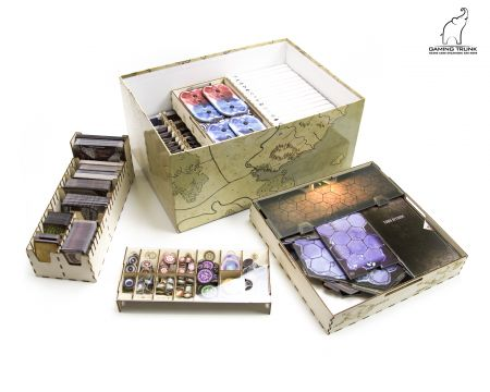 Gloom Tavern Organizer for Gloomhaven™ by Gaming Trunk