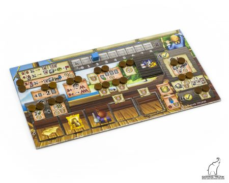 Acrylic overlays for the Maracaibo player boards by Gaming Trunk