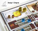 Acrylic overlay with backboard for the Terraforming Mars player mats. Design 1 – ORIGINAL