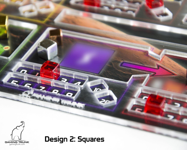 Acrylic Single Sided Overlay For Terraforming Mars U2122 Player