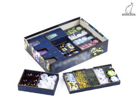 Underwater Colony organizer compatible with Underwater Cities by Gaming Trunk